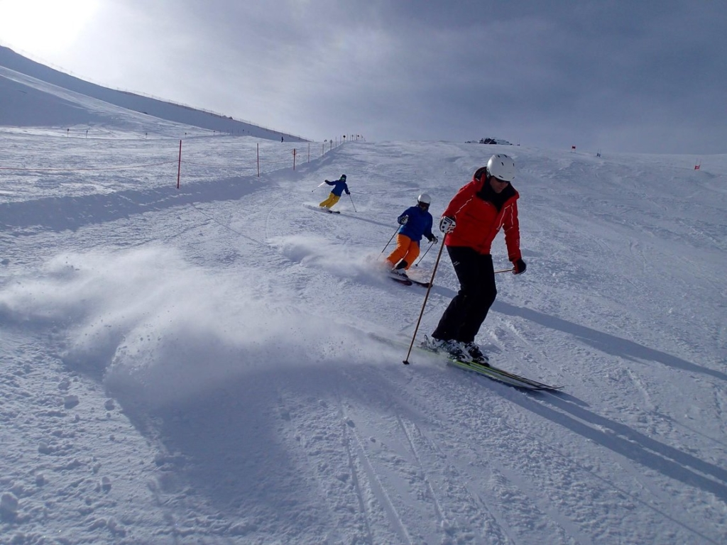 Wintersport - Skifahren
